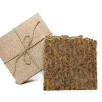 Mechanics Soap, Gardeners Soap, Scrub Soap, Handmade Cold Process Vegan Soap, Gift under 10