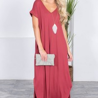 Clara Loose Maxi Dress | Colors