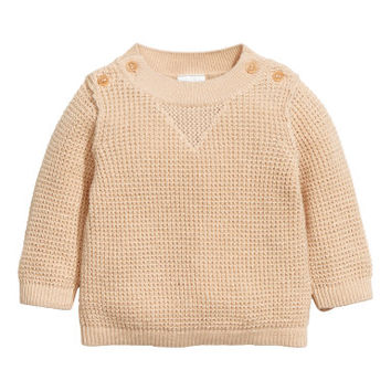 H&M Knit Cotton Sweater $19.99