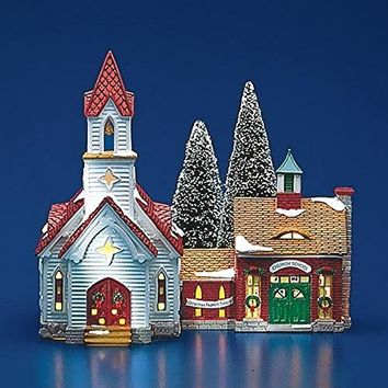 Department 56 Good Shepherd Chapel & Church School