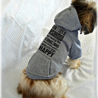 Custom Dog Sweatshirts. Pet Lover Sweater. Strange Little Things Quote. Small Pet Clothes. Gift for Dog Lover.