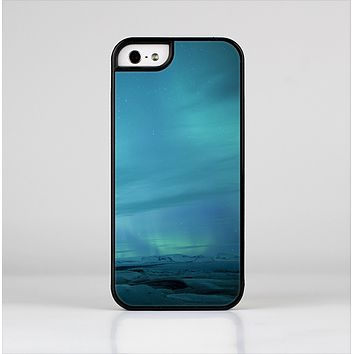 The Teal Northern Lights Skin-Sert for the Apple iPhone 5-5s Skin-Sert Case