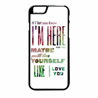 One Direction Love White iPhone 6 Plus Case