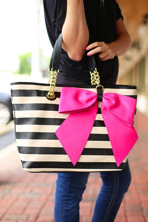 Bow Nanza Tote By Betsey Johnson From Flourish Boutique W H
