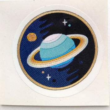 Vinyl Sticker #30. Saturn sticker. Planet sticker. Tumblr vinyl stickers, Vinyl Decal, Laptop Vinyl Stickers, Fun Stickers.
