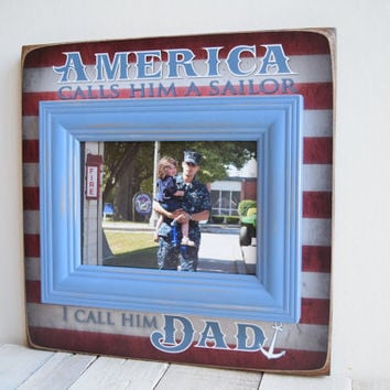 Military Frame Gift, Air Force Frame, Army Frame, Navy Frame, Marine Corps Frame, Coast Guard Frame, Military Dad Gift, Patriotic Frame