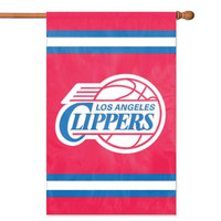 Los Angeles Clippers NBA Applique Banner Flag (44x28)
