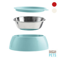 Martha Stewart Pets™ 3-Piece Bowl Set for Dogs