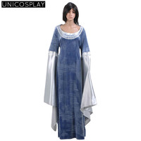 Arwen Cosplay Dress The Lord Of The Rings Halloween Costumes For Woman Girls Free Shipping