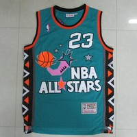 Men's Chicago Bulls Michael Jordan Mitchell & Ness Hardwood Classics 1996 All Star Jersey - Best Deal Online