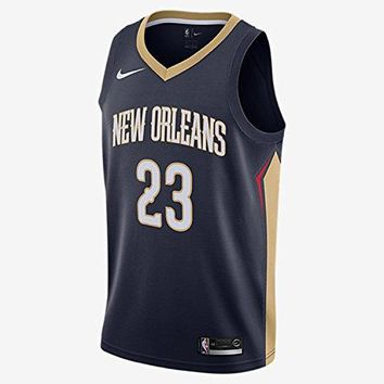Men's Nike NBA New Orleans Pelicans Anthony Davis Swingman Jersey