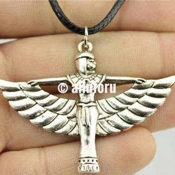 Mother Goddess Isis Pendant Necklace