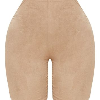 Shape Stone Faux Suede Cycling Shorts
