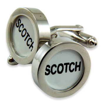Scotch Cufflinks