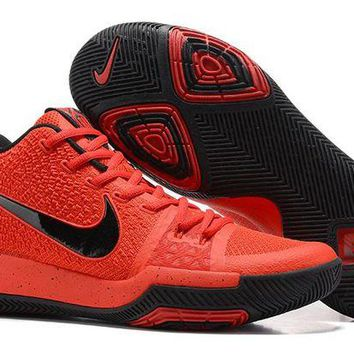 DCCKIJ2 Men's Nike Zoom Kyrie 3 Basketball Shoes Orange