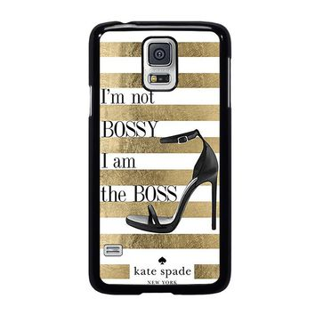 KATE SPADE THE BOSS Samsung Galaxy S5 Case Cover