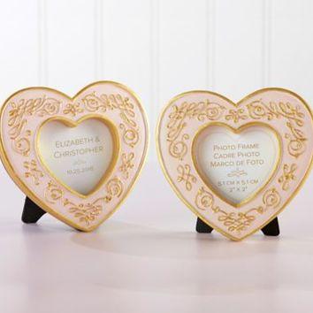 Modern Romance Heart Frame 3 3/4in x 3 1/2in | Party City