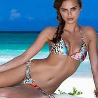 Luli Fama Swimwear 2014 'Isla Bonita' Triangle | The Orchid Boutique