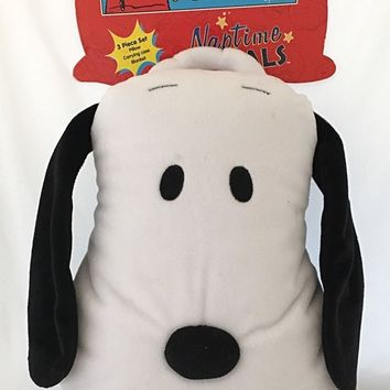 Peanuts Gang Naptime Pal : Snoopy pillow plush doll