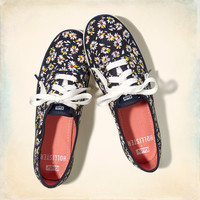 Hollister + Keds Champion Floral Print Sneakers