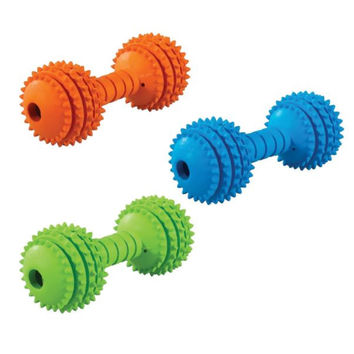 JW Chompion Dumbbell Dog Chew Toy Middleweight