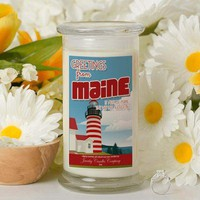 Greetings From Maine - Greetings From Candles