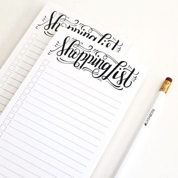 notepad - Shopping list
