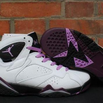 DCCK Air Jordan 7 GS ¡°Fuchsia¡¯sport shoes