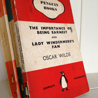 Penguin Classic Book Oscar Wilde The Importance of Being Ernest