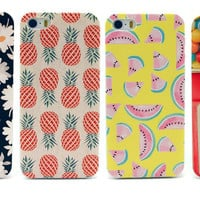 Fruit Sweets Daisy Floral Retro Vintage Classic Aztec Phone iPhone 4 5 5C Case