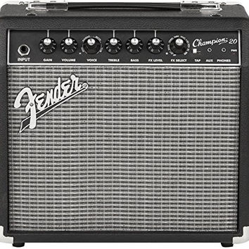 Fender Champion 20 - 20-Watt Electric Guitar Amplifier 20 Watt Amp