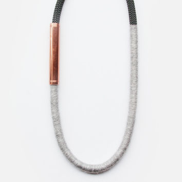 Gray Rotterdam Necklace