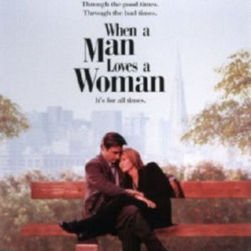 When A Man Loves A Woman Mini Movie Poster 11inx17in