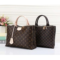 Louis Vuitton LV Fashion Women Shopping Leather Tote Crossbody Satchel Handbag Shoulder Bag