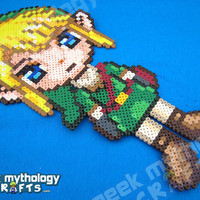 Link Legend of Zelda Twilight Princess Perler Bead Sprite