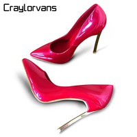 Craylorvans Top Quality Brand Style Women Pumps Stiletto 2017 Thin High Heels Sexy Wee