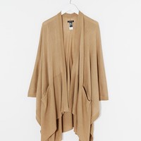 Warehouse Knitted Pocket Cape