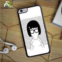 Tina Bobs Burgers Quotes iPhone 6S Plus Case by Avallen
