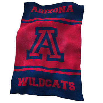 Arizona Wildcats NCAA UltraSoft Fleece Throw Blanket (84in x 54in)