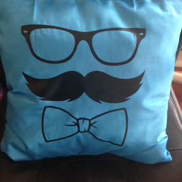 Mr. Bow-tie Pillow Cover