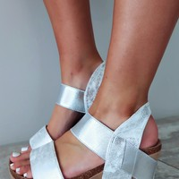 Keep Holding On Wedges: Silver