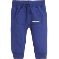 Baby Boys Blue Logo Sweatpants