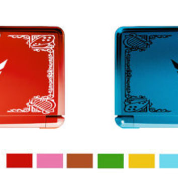 Zelda Hylian Shield decal sticker for Nintendo 3DS, also any other device