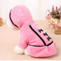 Fashion Smart Graceful Dog Coat Jacket Pet Supplies Clothes Winter Apparel Puppy Costume Dog Clothes For Small Dogs Roupa Cachor