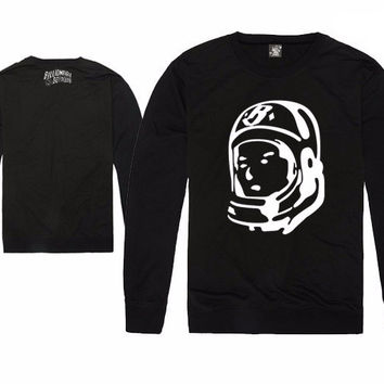 Billionaire Boys Club Front Panel Spaceman Long Sleeve Shirts