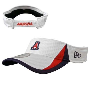 New Era Arizona Wildcats Training Visor - White