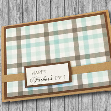 Handmade Father's Day Greeting Card, Happy Father's Day, Tie Card, Dad, Daddy, Feliz Día del Padre, Feliz Dia dos Pais