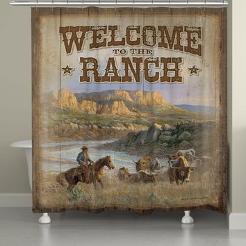 Canyon Ranch Shower Curtain