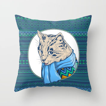 Hipsfur Throw Pillow by Angoes25