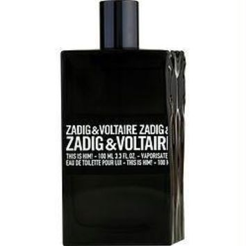 Zadig & Voltaire This Is Him! By Zadig & Voltaire Edt Spray 3.3 Oz *tester